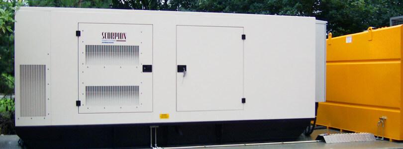 Generator & Fuel Tank