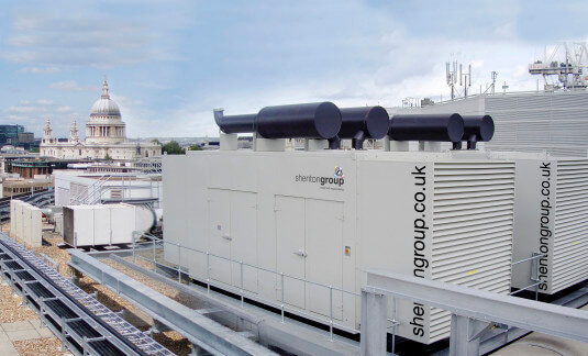 Generator overlooking St Pauls