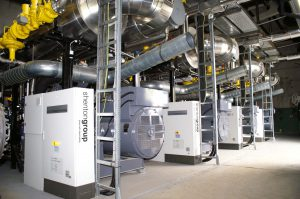 2mv CHP unit for hospitals