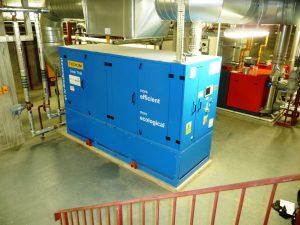 CHP generator installation