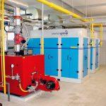 Hospital Boiler Plant Room CHP Installation_1