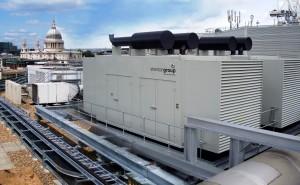 Large multi MVA generator installation