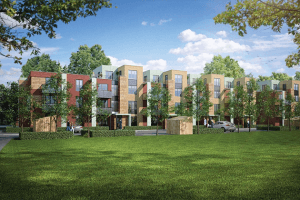 Combined heating and power systems for new housing developments