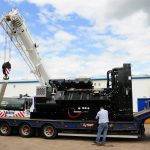 Generator transport for relocations