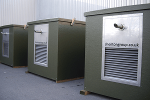 Large bespoke drop-over GRP enclosures for RAF Valley