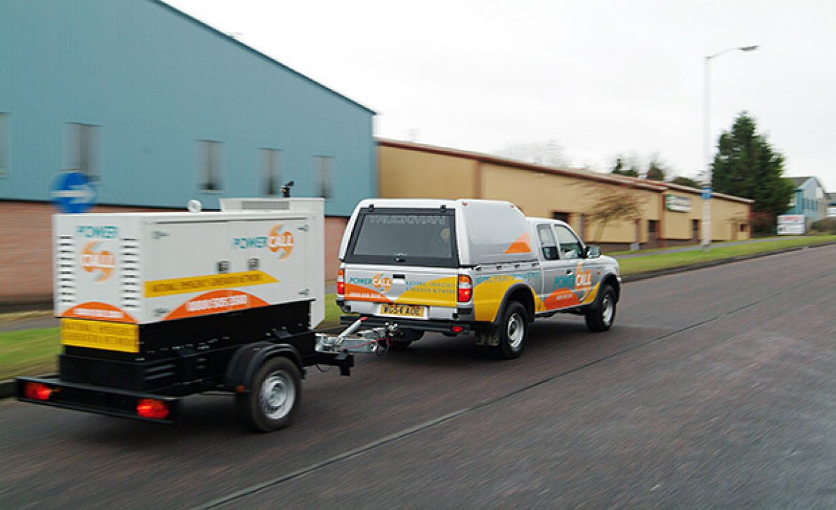 Shenton Group Provides Emergency Generator Power Solution for Financial Company