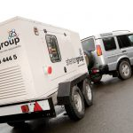 Generator rental for commercial events