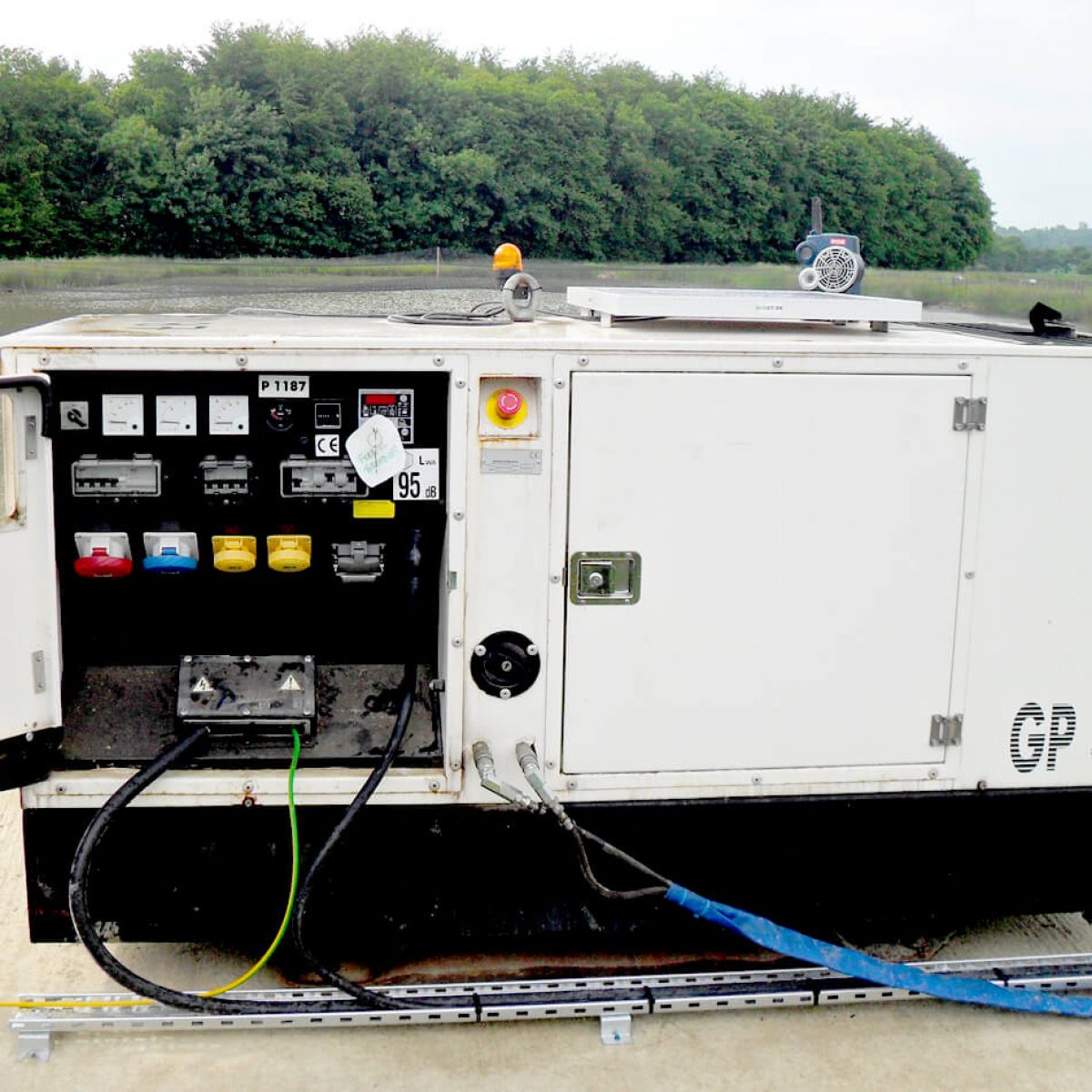 Automated Generator Control Solution for Fish Farm Aeration System