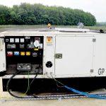Generator control panel installation
