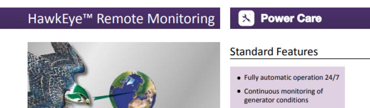 HawkEye2™ Remote Monitoring Datasheet