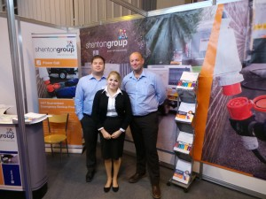 shentongroup staff at NEC Care Show 2014