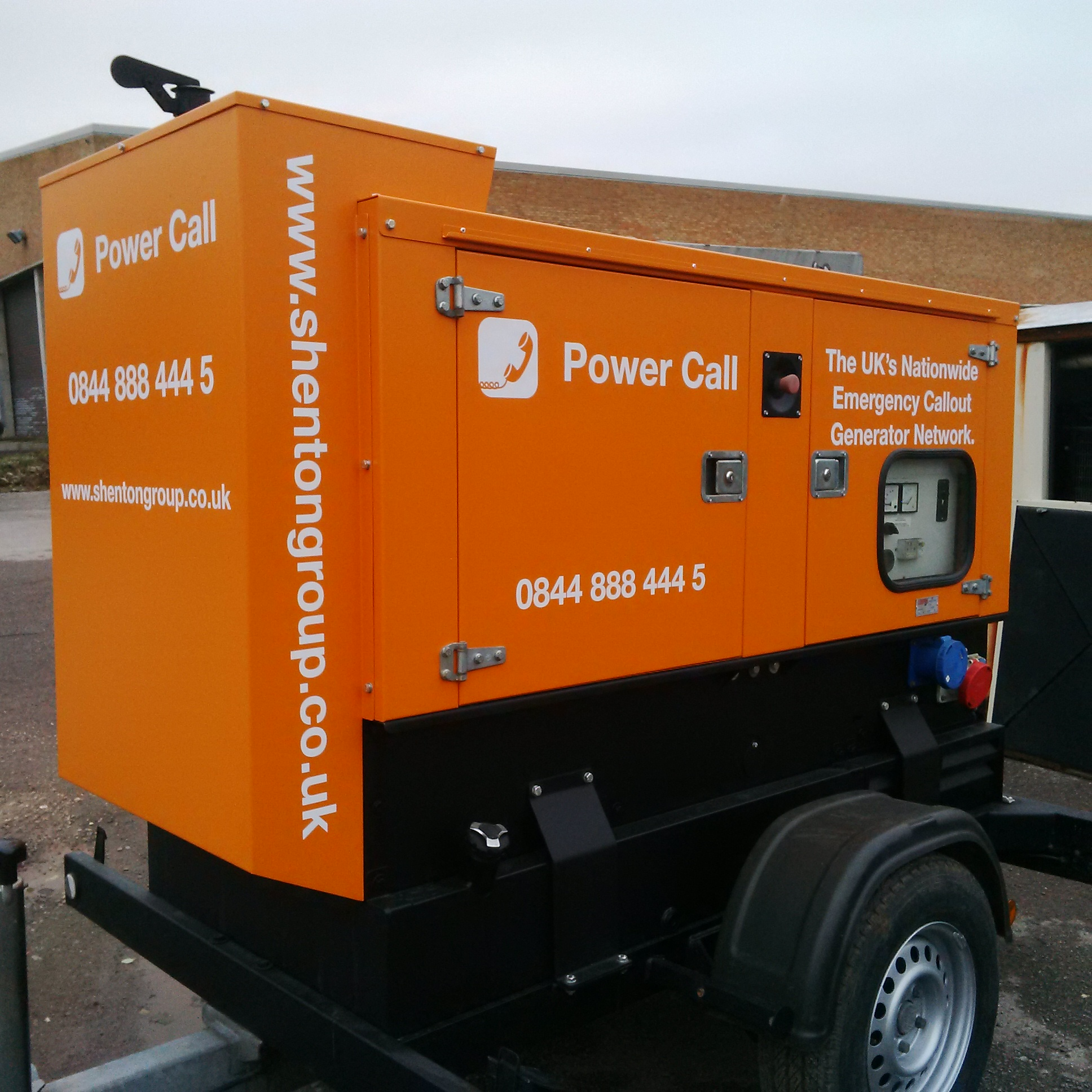 Power Call Generators a makeover at shentongroup