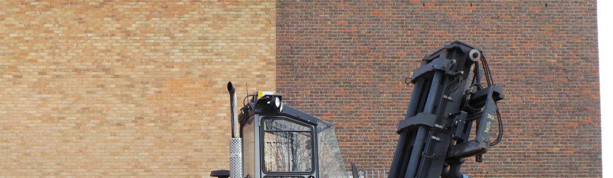 New Forklift arrives at shentongroup