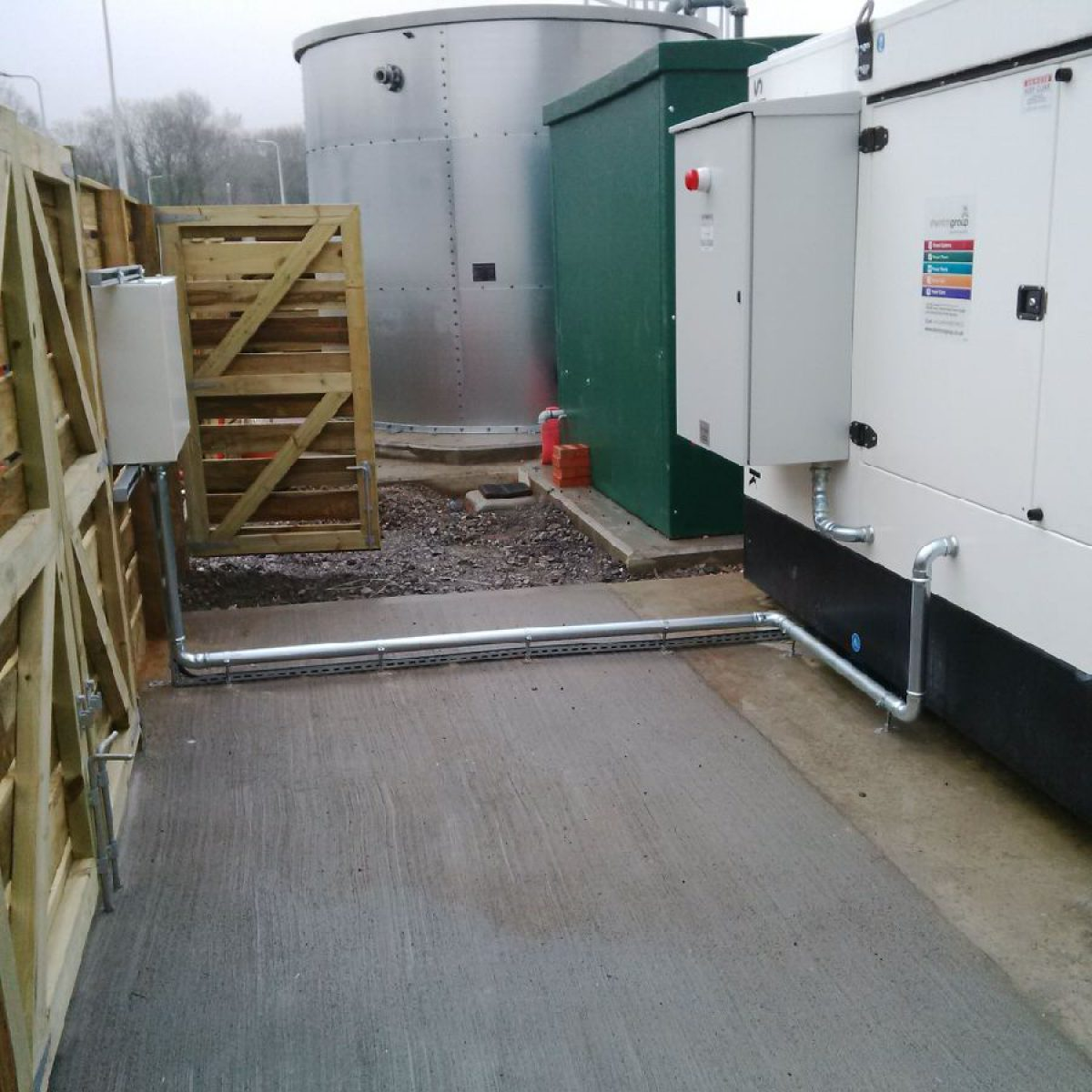 Delivering a Complete Standby Power System for 24/7 Fire Service