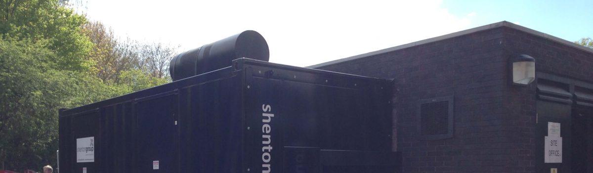 shentongroup installs Generator at major University