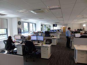 New office layout at shentongroup HQ