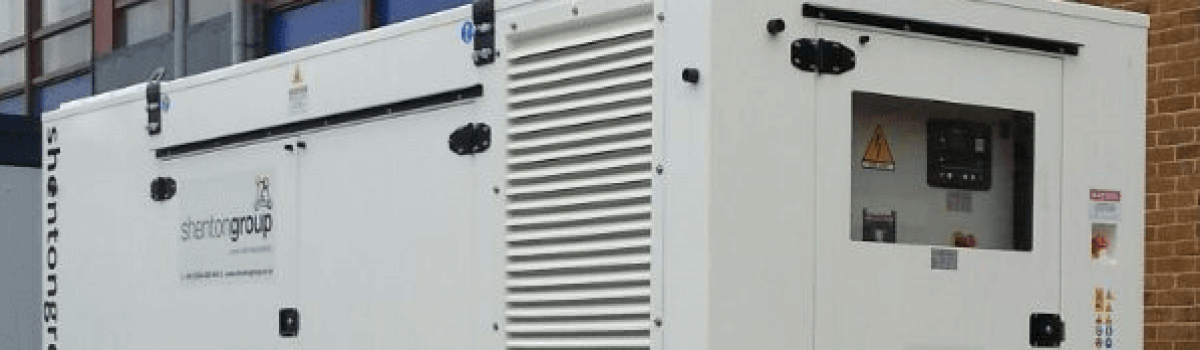 shentongroup install Generator at another Hospital
