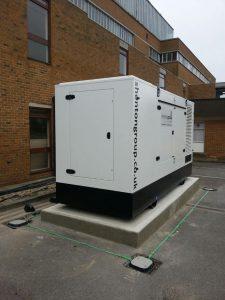 440kVA Generator awaiting cables
