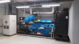 910 kVA Generator installed at laboratory