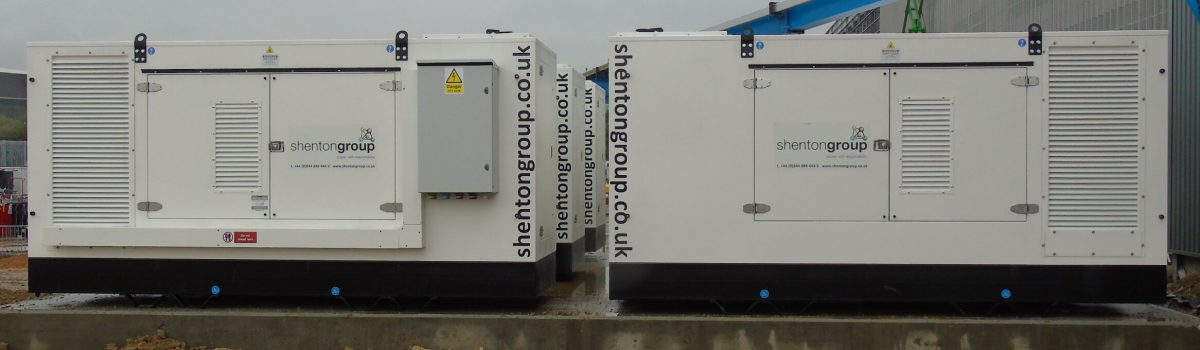 10 Generators on site for Yorkshire Distribution Centre
