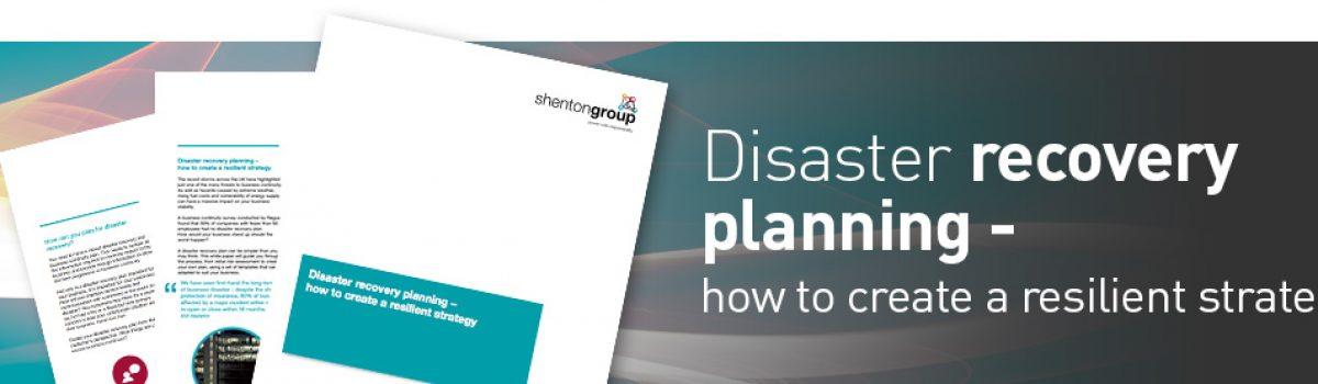 Disaster Recovery – How to Plan – How to Cope