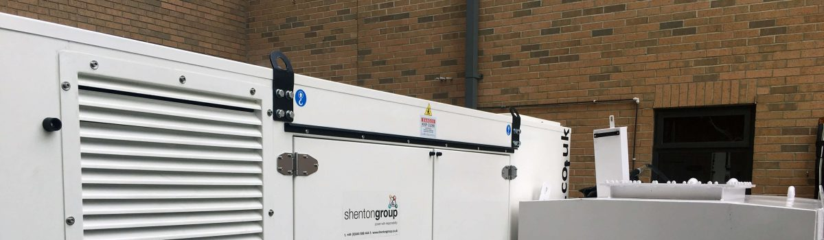 No Break in Service for Screwfix as shentongroup Replaces Generator Sets