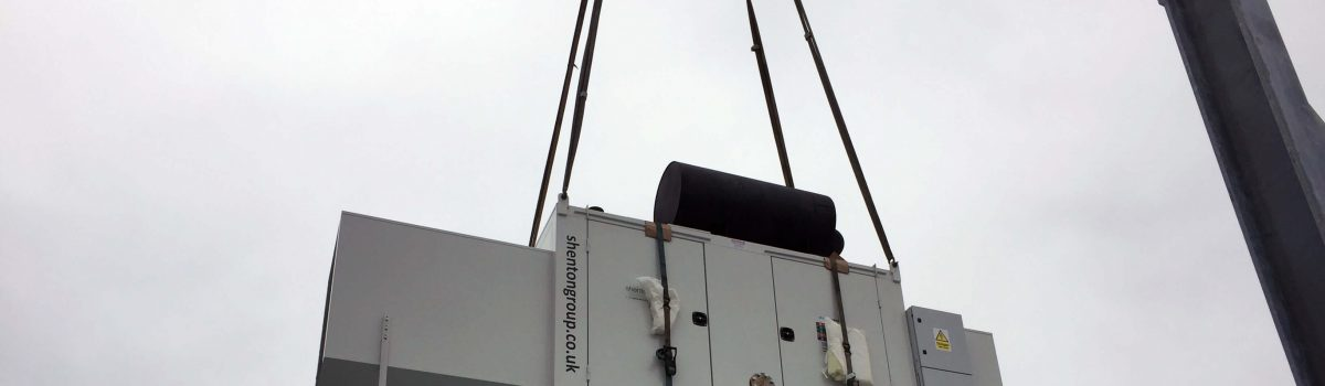 Standby Generator Install on London Rooftop Goes to Plan