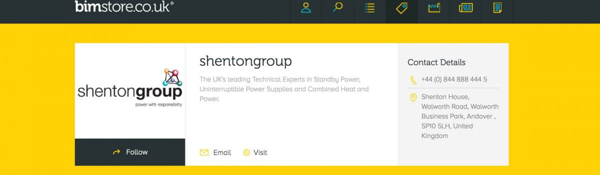 Specifiers: shentongroup meets bimstore