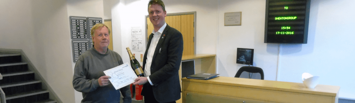 Colleague of the Month – The Power Behind shentongroup