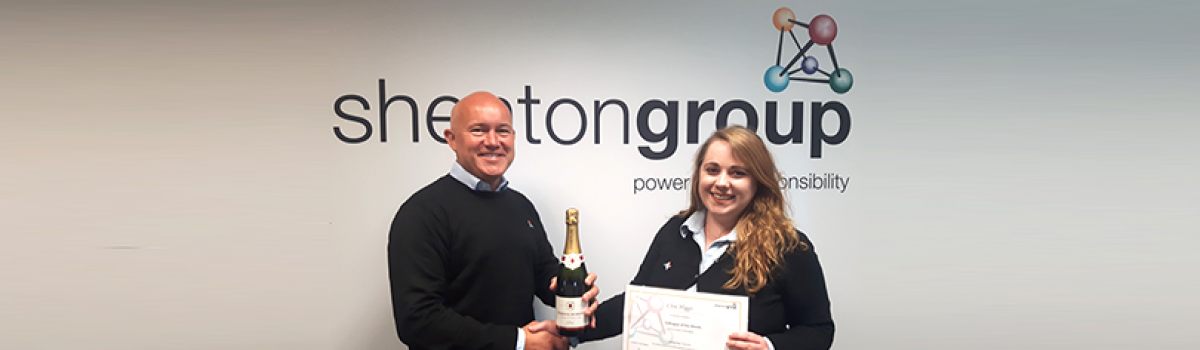 shentongroup Colleague of the Month – Cloe Higgs