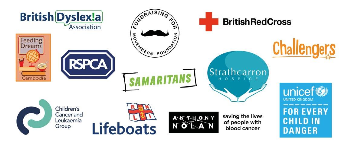 2017 charities