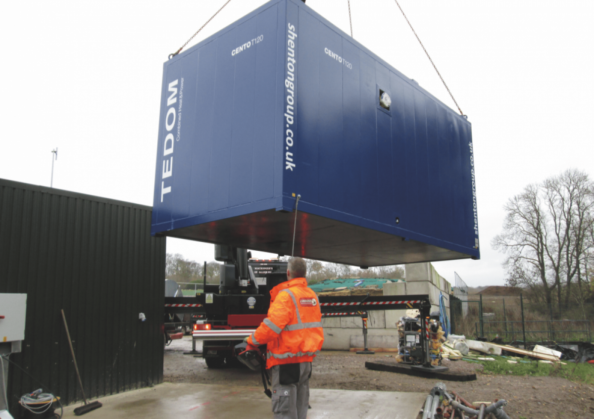 Converting Biogas into Electricity – Cranford AD Plant