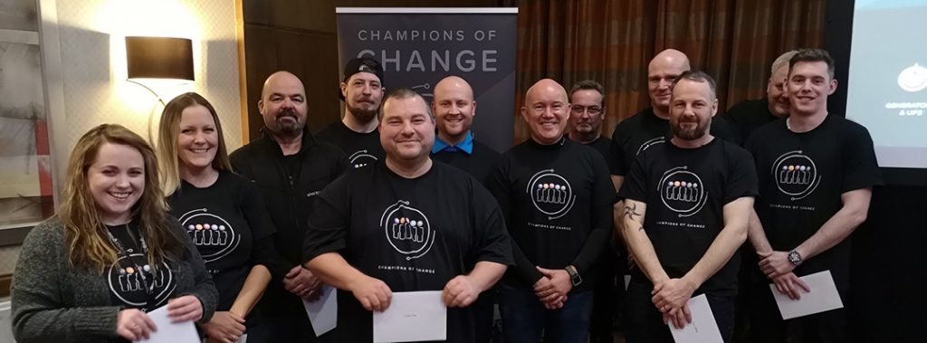 Shenton Group Champions of change
