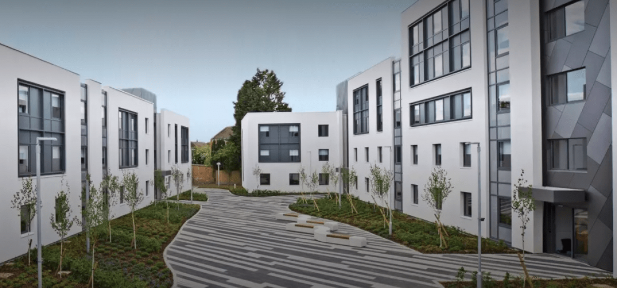 CHP Solution for Canterbury Christ Church University Halls of Residence