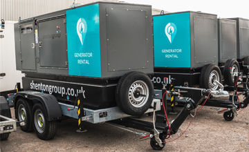 Road Tow Generators for hire