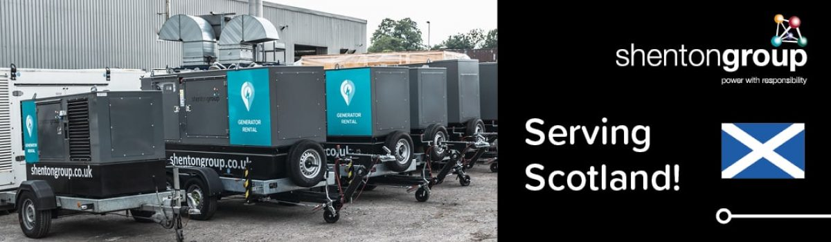 Shenton Group Plans to Become Scotland's Generator Rental Company of Choice!